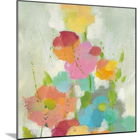 Longstem Bouquet I Square I-Silvia Vassileva-Mounted Art Print