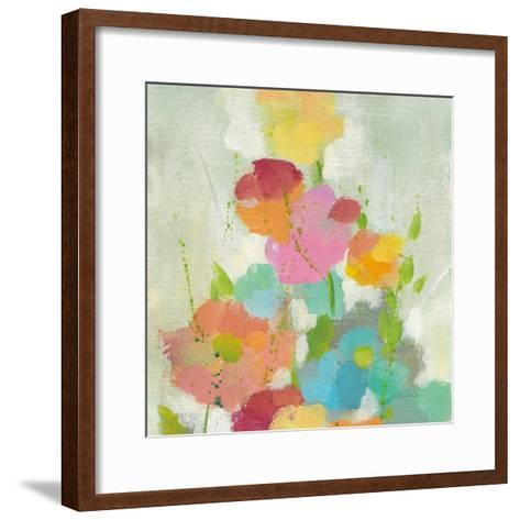 Longstem Bouquet I Square I-Silvia Vassileva-Framed Art Print