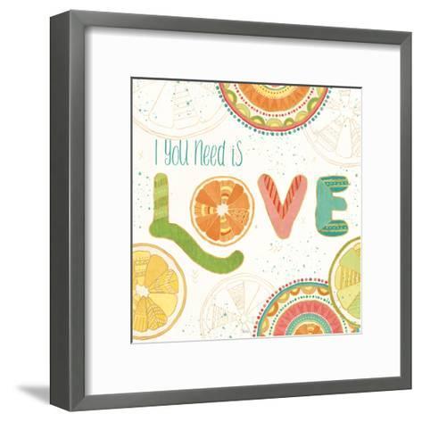 Citrus Splash V-Veronique Charron-Framed Art Print