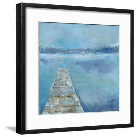Lake Edge II-Sue Schlabach-Framed Art Print