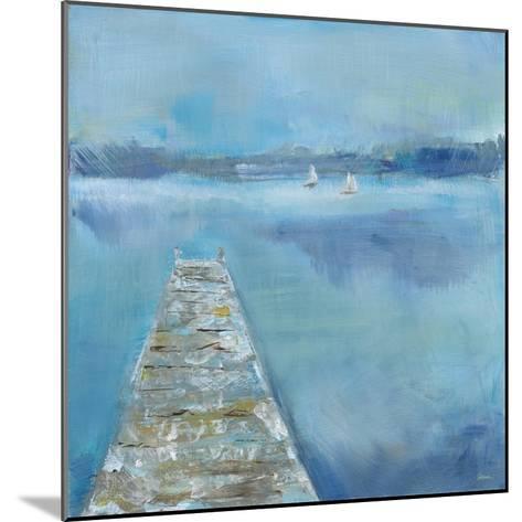 Lake Edge II-Sue Schlabach-Mounted Art Print
