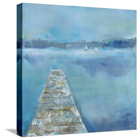 Lake Edge II-Sue Schlabach-Stretched Canvas Print