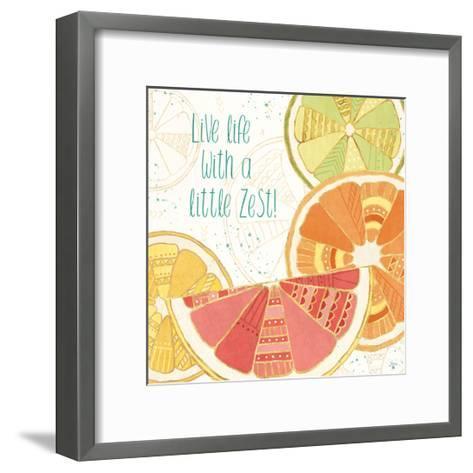 Citrus Splash II-Veronique Charron-Framed Art Print