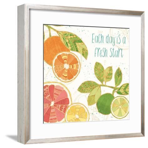 Citrus Splash IV-Veronique Charron-Framed Art Print