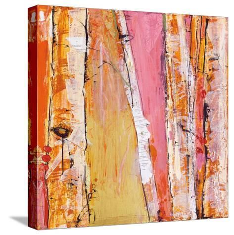 Where the Sun Sleeps I Light-Kellie Day-Stretched Canvas Print