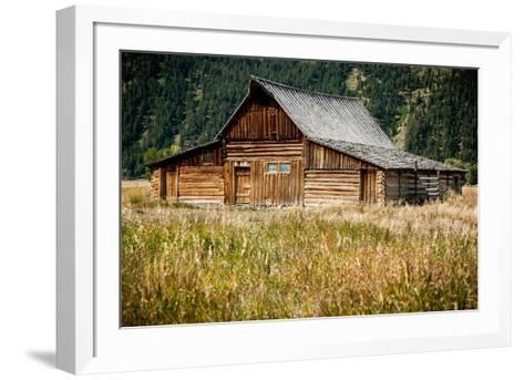 Teton Barn-Tim Oldford-Framed Art Print