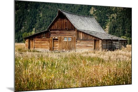 Teton Barn-Tim Oldford-Mounted Photographic Print