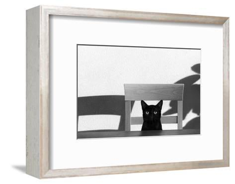 Where Is My Coffee?-Jon Bertelli-Framed Art Print