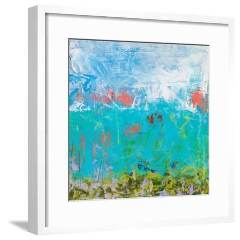 Cerulean Escapes II-Tracy Lynn Pristas-Framed Art Print