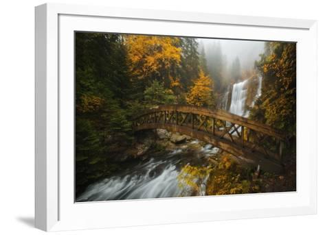 A Bridge in the Forest-Enrico Fossati-Framed Art Print
