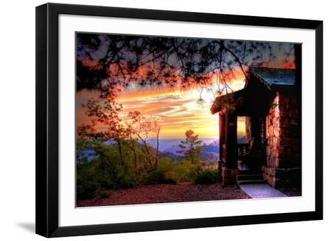 Grand Canyon Cabin-Tim Oldford-Framed Art Print