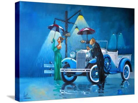 Late for the Ball-Ronald West-Stretched Canvas Print