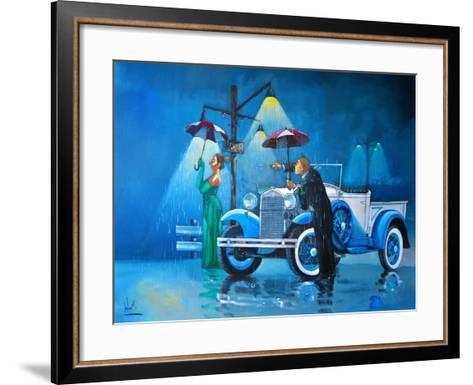 Late for the Ball-Ronald West-Framed Art Print