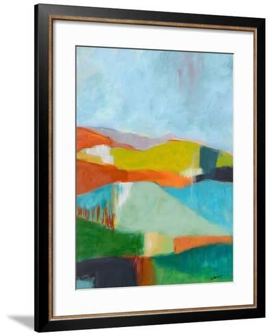 North Bay Hills-Jan Weiss-Framed Art Print