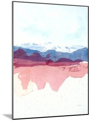 Geode Mountain-Jan Sullivan Fowler-Mounted Art Print