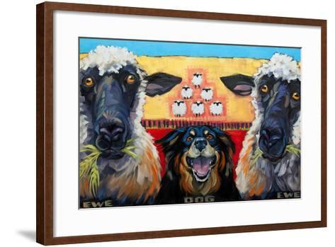 Ewe Dog Ewe-Connie R. Townsend-Framed Art Print