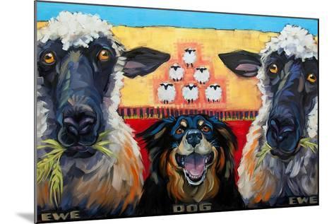 Ewe Dog Ewe-Connie R. Townsend-Mounted Art Print