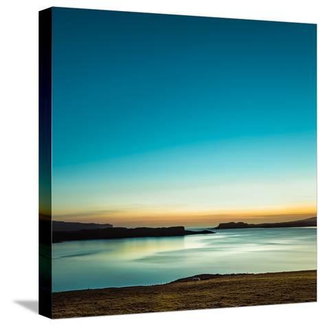 Serenity Loch Harport-Lynne Douglas-Stretched Canvas Print