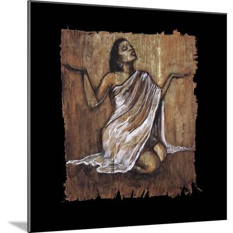 Soulful Grace IV-Monica Stewart-Mounted Art Print