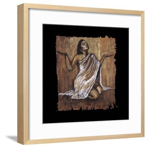 Soulful Grace IV-Monica Stewart-Framed Art Print
