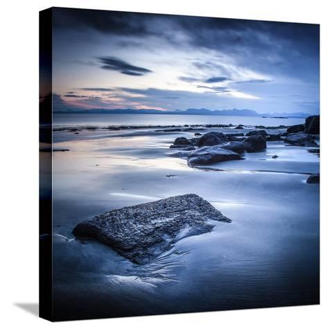 Staffen Bay, Looking East-Lynne Douglas-Stretched Canvas Print