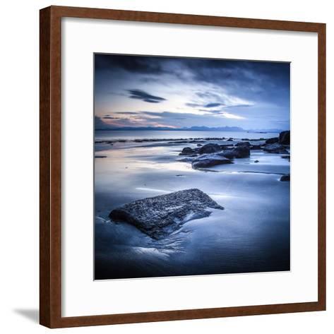 Staffen Bay, Looking East-Lynne Douglas-Framed Art Print