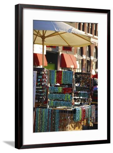 Fishermans Wharf Street Vendor Booth, San Francisco, California-Anna Miller-Framed Art Print