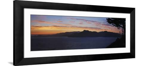 Golden Gate and San Francisco Bay at Dusk, California-Anna Miller-Framed Art Print