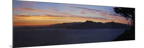 Golden Gate and San Francisco Bay at Dusk, California-Anna Miller-Mounted Photographic Print