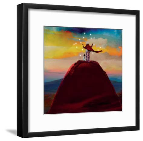 Catching Stars-Nancy Tillman-Framed Art Print