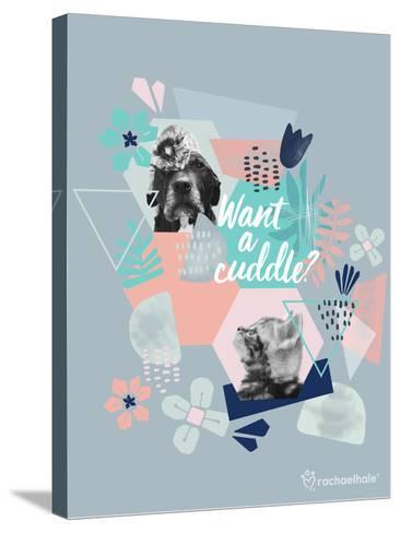 Furry Friends-Rachael Hale-Stretched Canvas Print