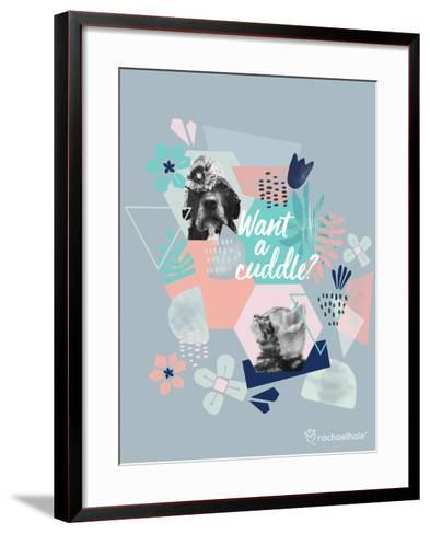 Furry Friends-Rachael Hale-Framed Art Print