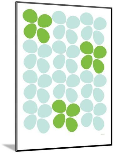 Green Flowers-Avalisa-Mounted Art Print