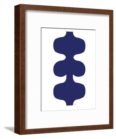 Navy Design, no. 115-Avalisa-Framed Art Print