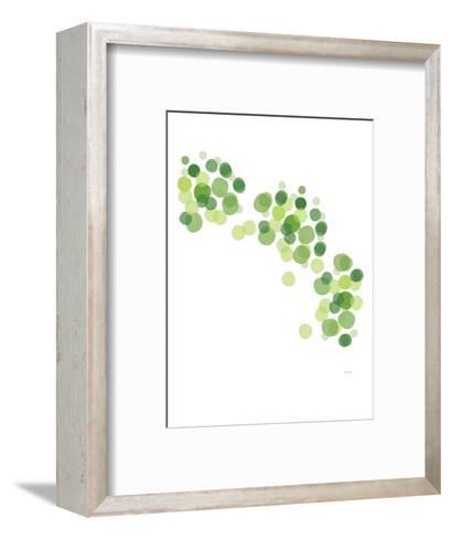 Green Float-Avalisa-Framed Art Print