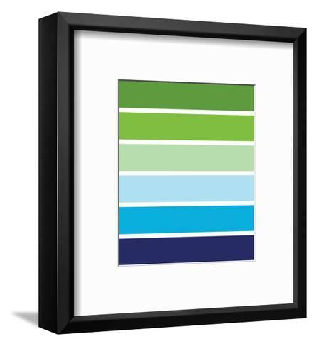Cool Stripes-Avalisa-Framed Art Print