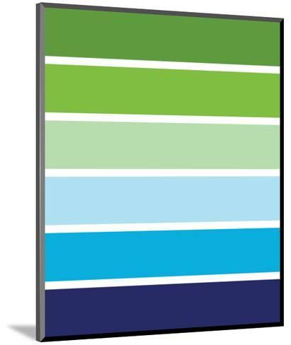 Cool Stripes-Avalisa-Mounted Art Print