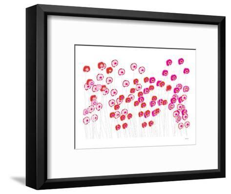 Pink Wild Flowers-Avalisa-Framed Art Print