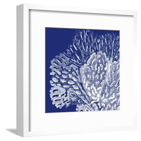 Saturated Coral III-Vision Studio-Framed Art Print
