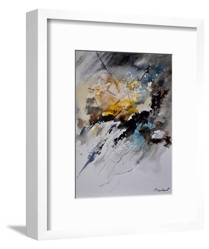 Abstract Watercolor-Pol Ledent-Framed Art Print