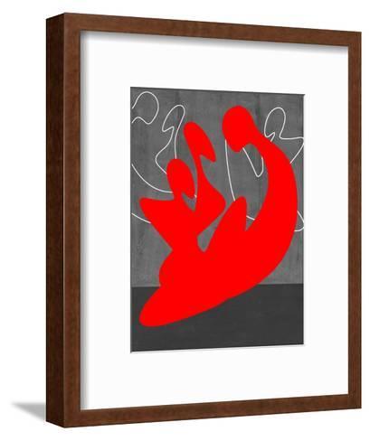 Red People-NaxArt-Framed Art Print