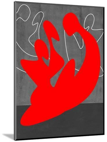 Red People-NaxArt-Mounted Art Print