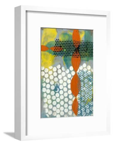 Translucent Abstraction II-Jennifer Goldberger-Framed Art Print