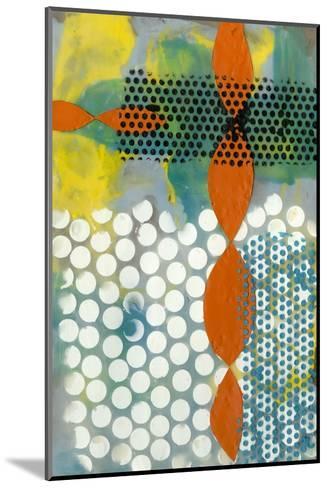 Translucent Abstraction II-Jennifer Goldberger-Mounted Art Print