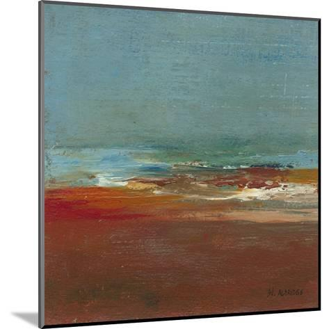 Sea Horizon I-W^ Green-Aldridge-Mounted Art Print