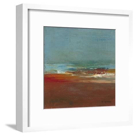 Sea Horizon I-W^ Green-Aldridge-Framed Art Print