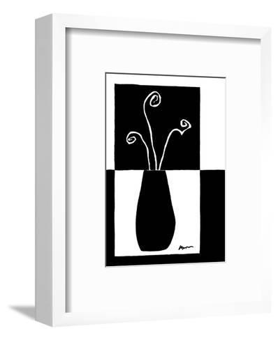 Small Minimalist Flower II-Jennifer Goldberger-Framed Art Print