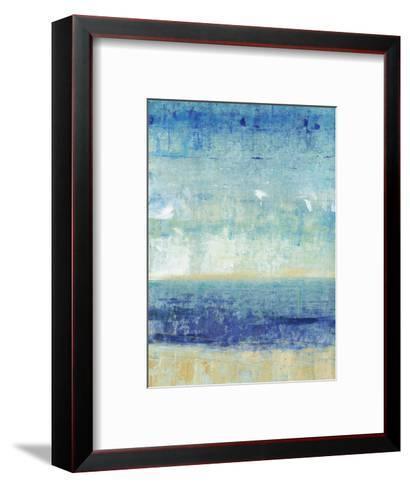 Beach Horizon I-Tim O'toole-Framed Art Print