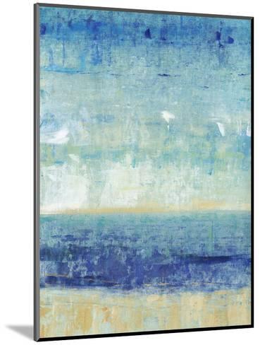 Beach Horizon I-Tim O'toole-Mounted Art Print
