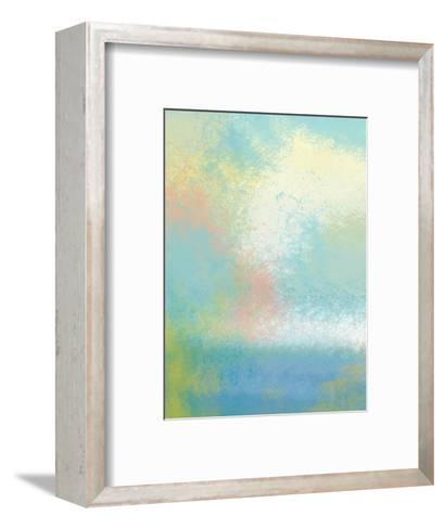 The Land In Between Two-Jan Weiss-Framed Art Print